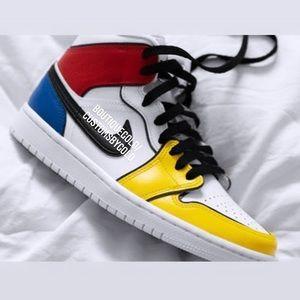 Customs Nike Air Jordan's
